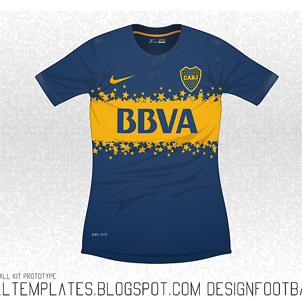 Nike Flyknit : Boca Juniors