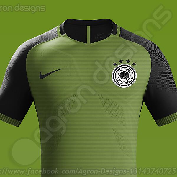 Nike Germany NT Away Kit Concept.