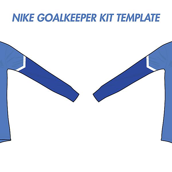 Nike Goalkeeper Kit Template #3