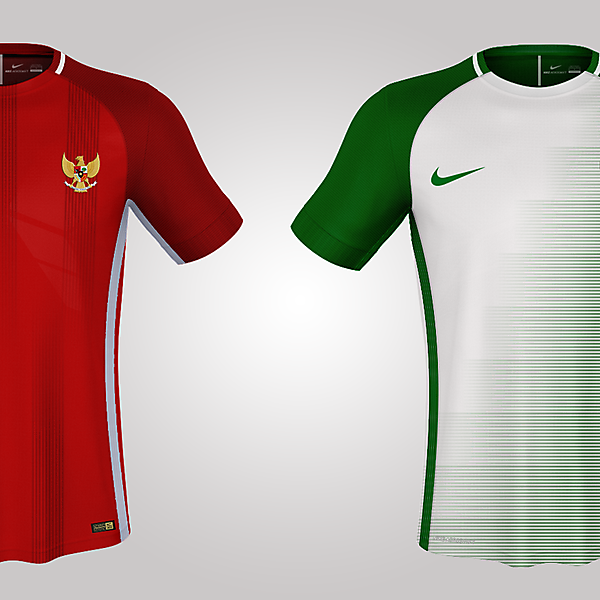 Nike Indonesia Home and Away