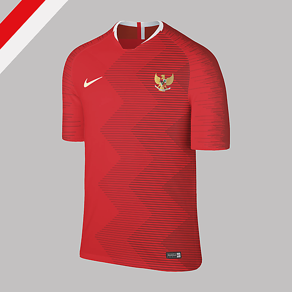 Nike Indonesia Home Jersey 2018 Concept