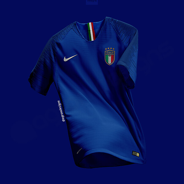 NIKE ITALY HOME KIT CONCEPT