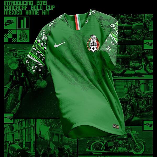 Nike Mexico Home Shirt