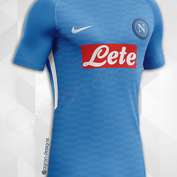 Nike Napoli Home Kit Concept