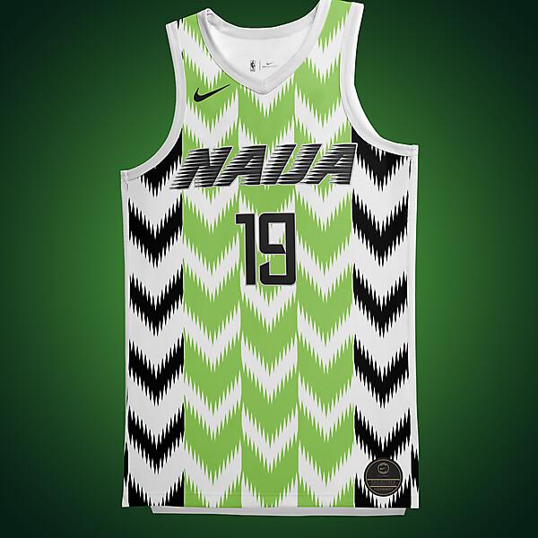 Nike Nigeria NBA Concept Jersey