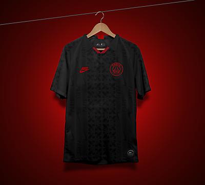 Nike Paris Saint-Germain  Black 90's Retro Concept