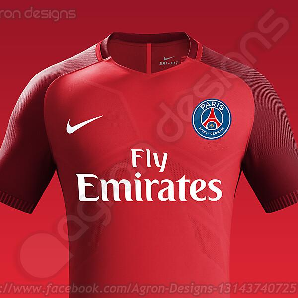 Nike Paris Saint-Germain (PSG) Away Kit 2016-17 based on leaked images