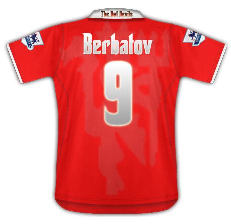 Man Utd Shirt Leaked Back design
