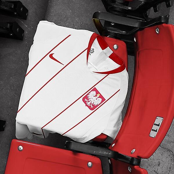 nike Poland National Team Home Shirt Concept