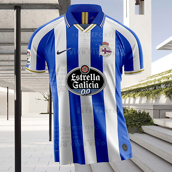 Nike RC Deportivo La Coruña 2019-20 Home Jersey concept