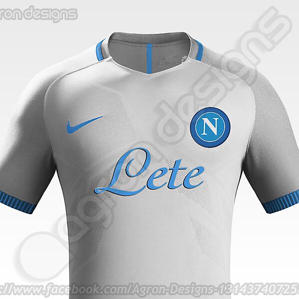 Nike SSC Napoli Away kit Concept