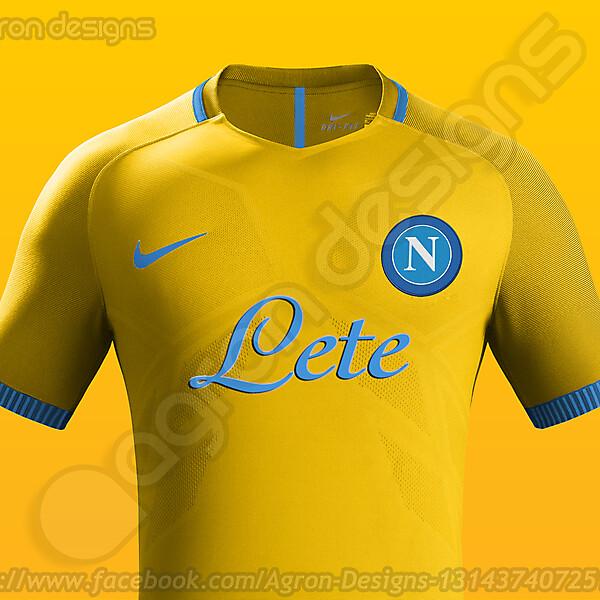 Nike SSC Napoli Third kit Concept