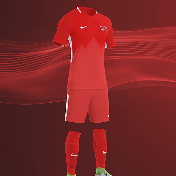 Nike Switzerland Home 2018-2019