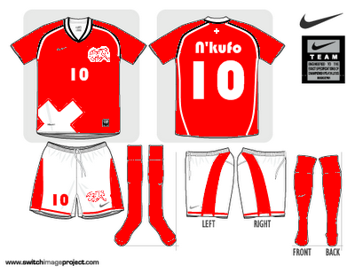 Switzerland World Cup 2010 Shirt
