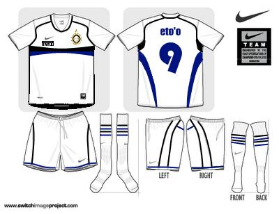 Inter Milan Away Shirt