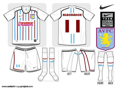 Aston Villa Fantasy Away Shirt