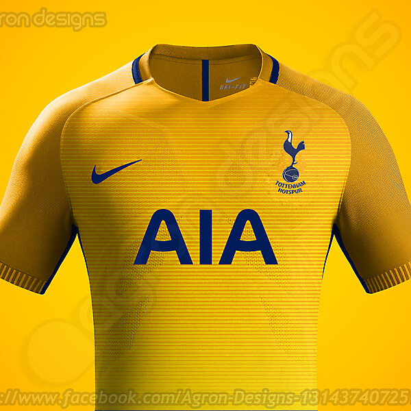 Nike Tottenham Hotspur Fc Third Kit Concept