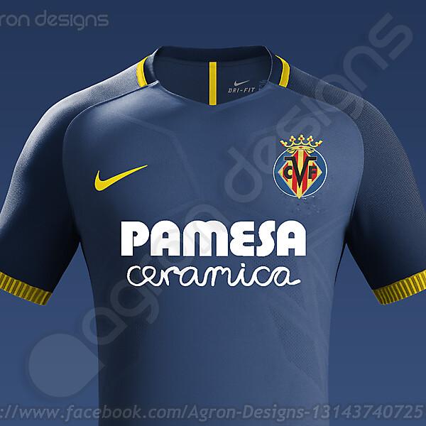 Nike Villarreal Cf Away Kit Concept
