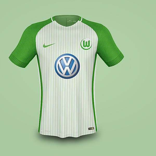 Nike Wolfsburg Away