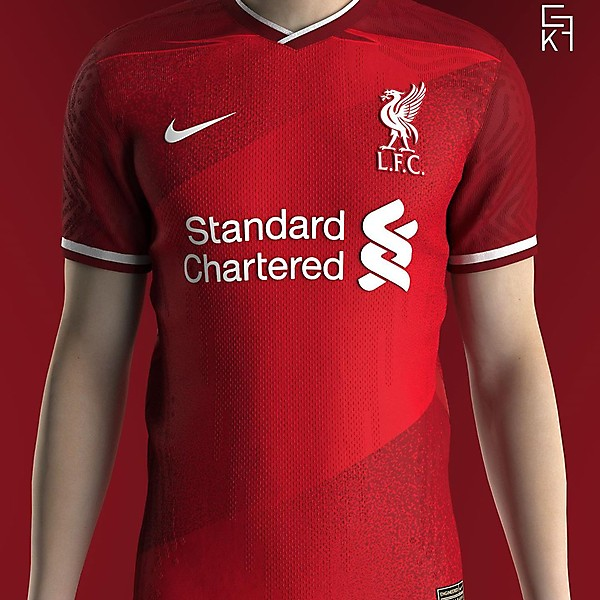 Nike X Liverpool Home Concept Kit