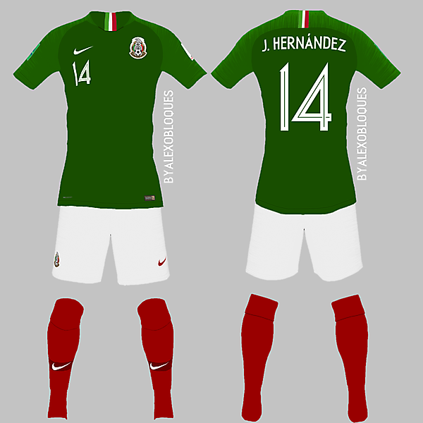 Nike x Mexico Home Jersey