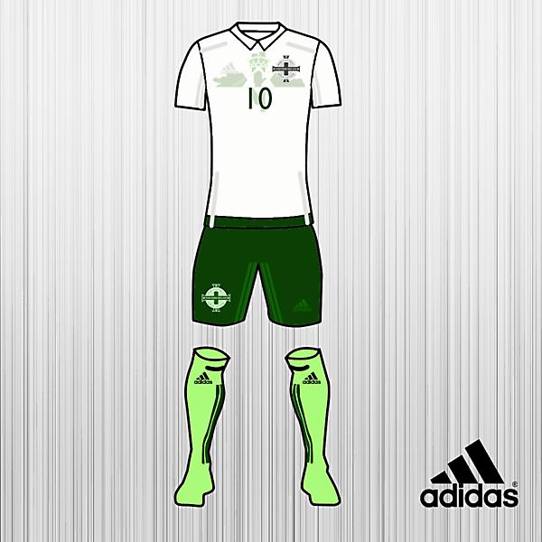 north ireland football away kits 2017