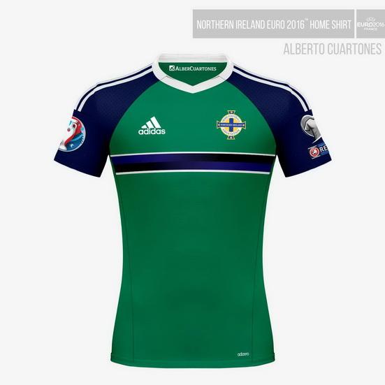 Northern Ireland UEFA EURO 2016™ Home Shirt