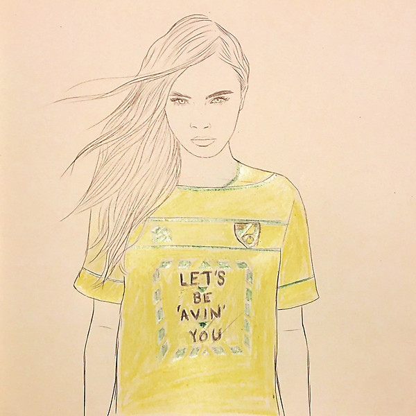 Norwich City Erreà 2020-21 Home Shirt