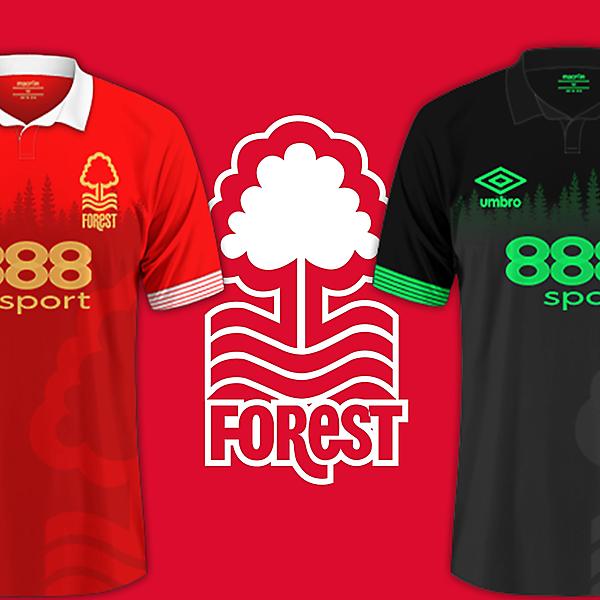 Nottingham Forest / Umbro Kits