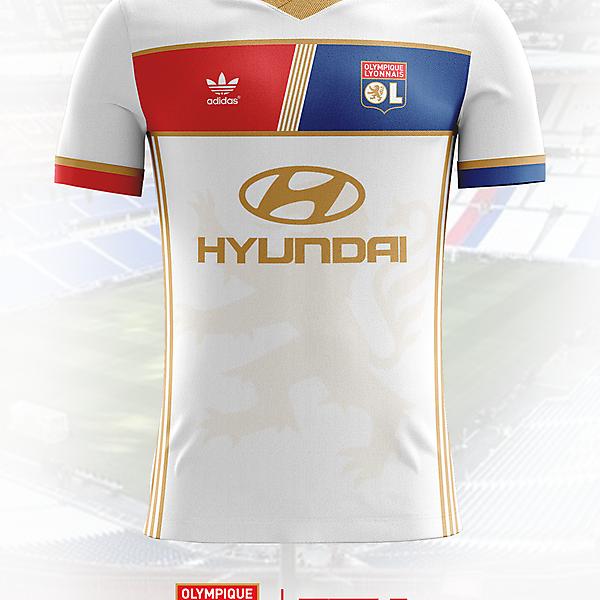 OL Lyon 17/18 Home Shirt Concept