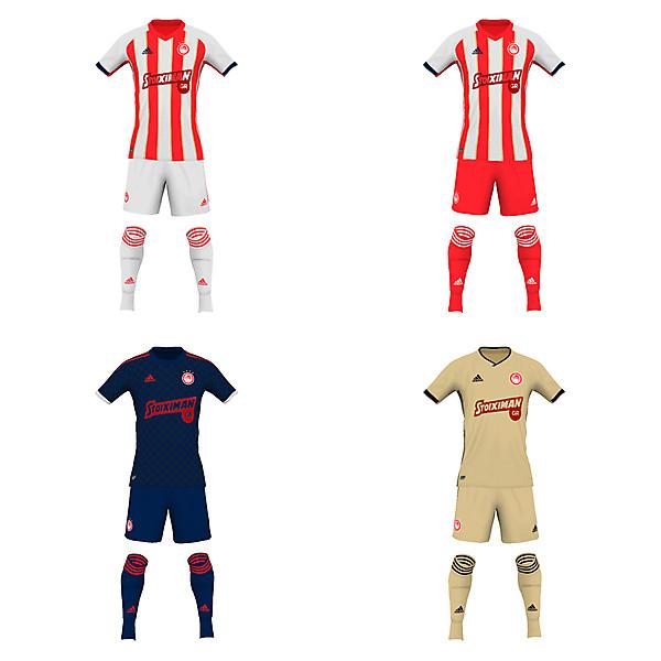 Olympiacos Piraeus fantasy 19/20 kits