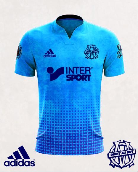 Olympique de Marseille kit alternate