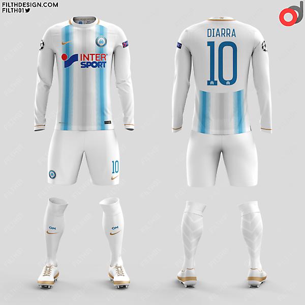 Olympique de Marseilles x Nike | Home Kit