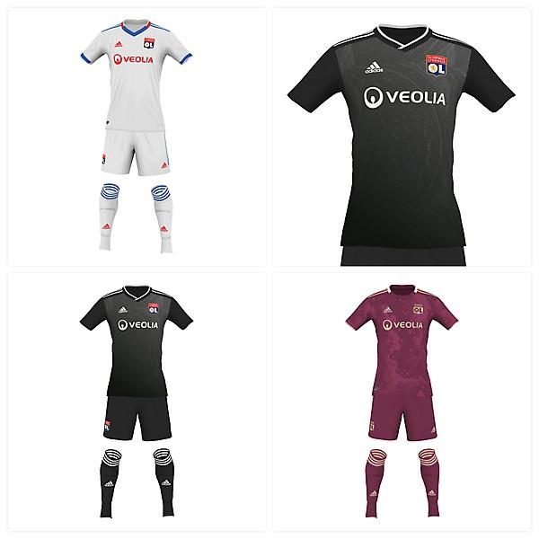 Olympique Lyon fantasy kits19/20