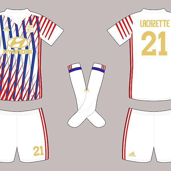 Olympique Lyonnais - Home shirt