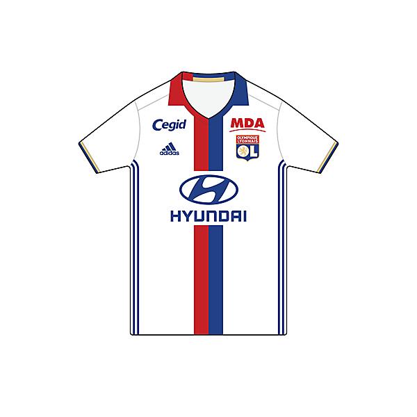 Olympique Lyonnais • Home (2016/17)