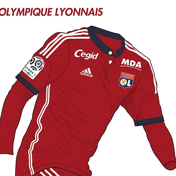Olympique Lyonnais Away