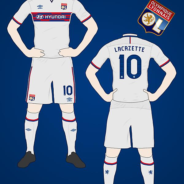 Olympique Lyonnais Home Kit