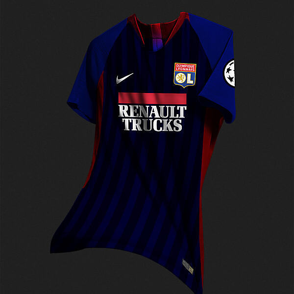 Olympique Lyonnais Third Kit Nike Concept