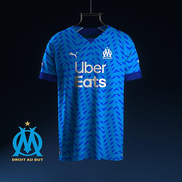 Olympique Marseille away concept