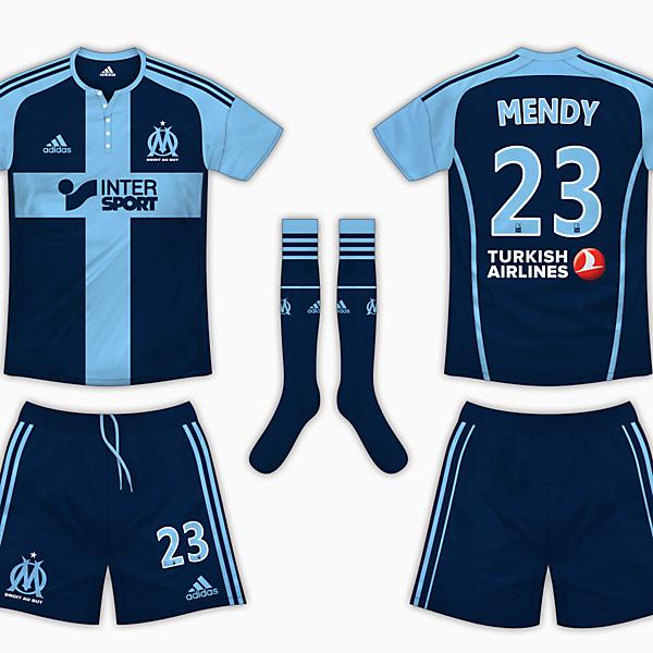 Olympique Marseille Away Kit - Adidas