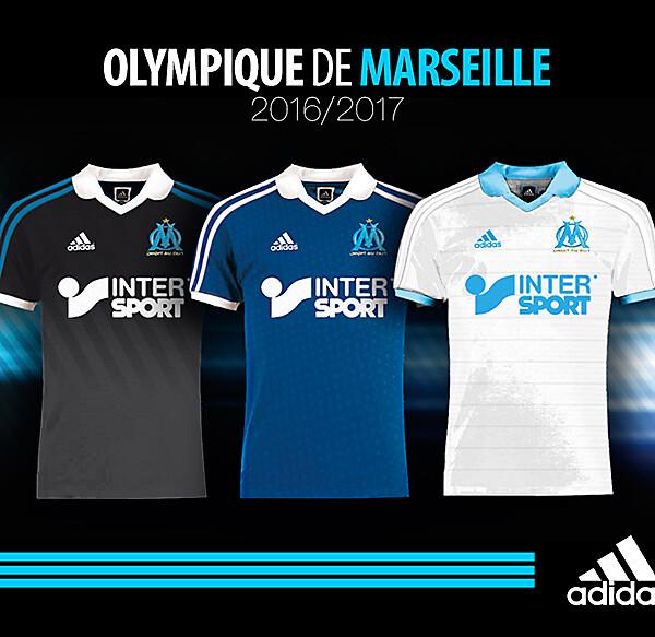 OM - Olympique de Marseille - Kit 2016-2017