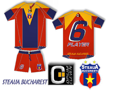 Steaua Bucharest Opium Eleven Home Fantasy