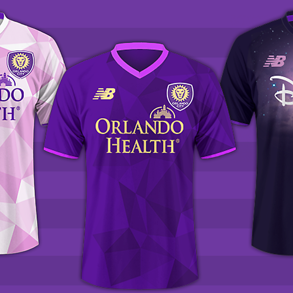 Orlando City Fc / New Balnce kits