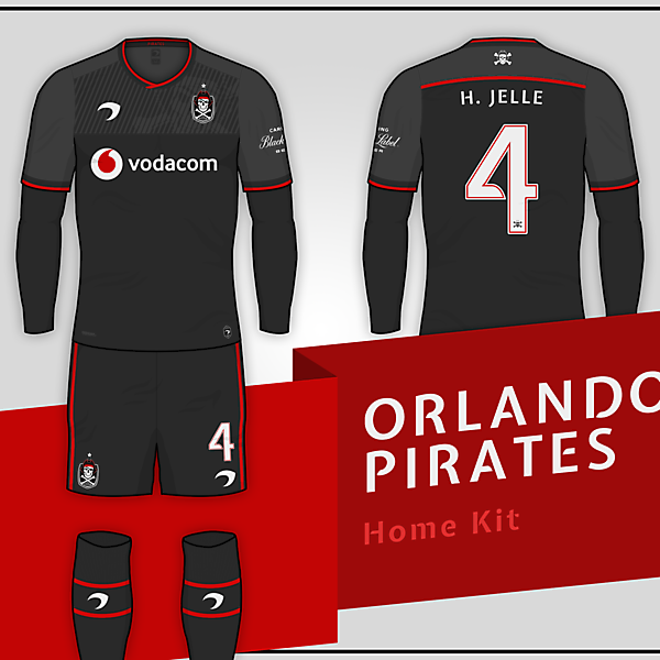Orlando Pirates | Home Kit