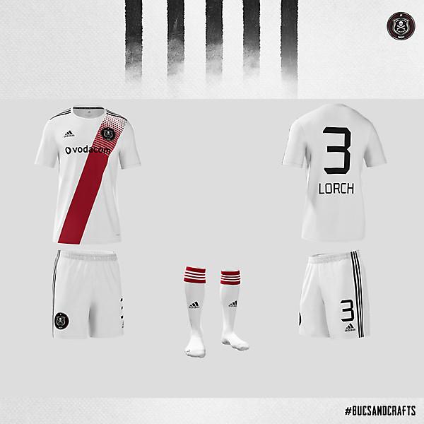 Orlando Pirates Adidas Away Kit 2020/21