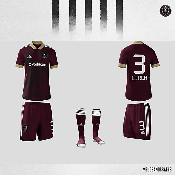 Orlando Pirates Adidas Home Kit 2020/21