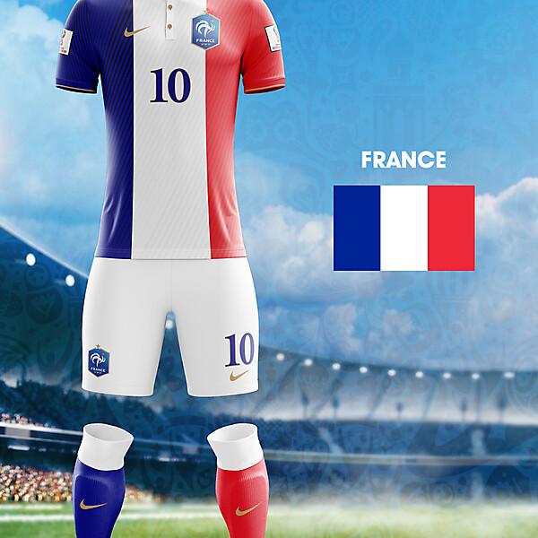 orld Cup Flag Kit: FRA