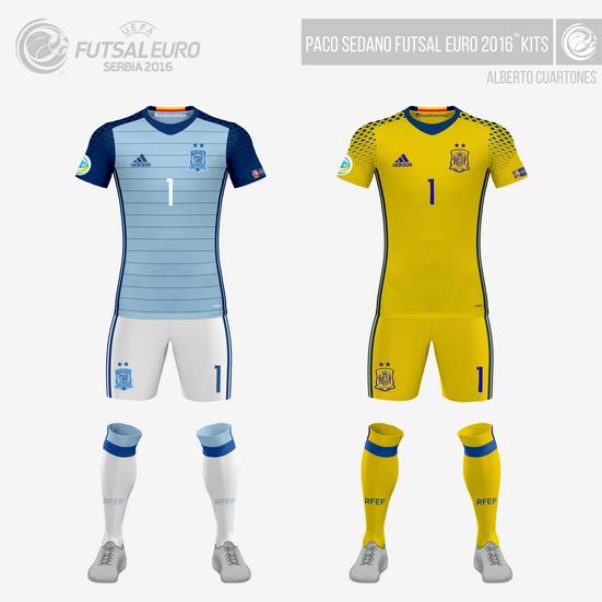 Paco Sedano Futsal EURO 2016™ Kits
