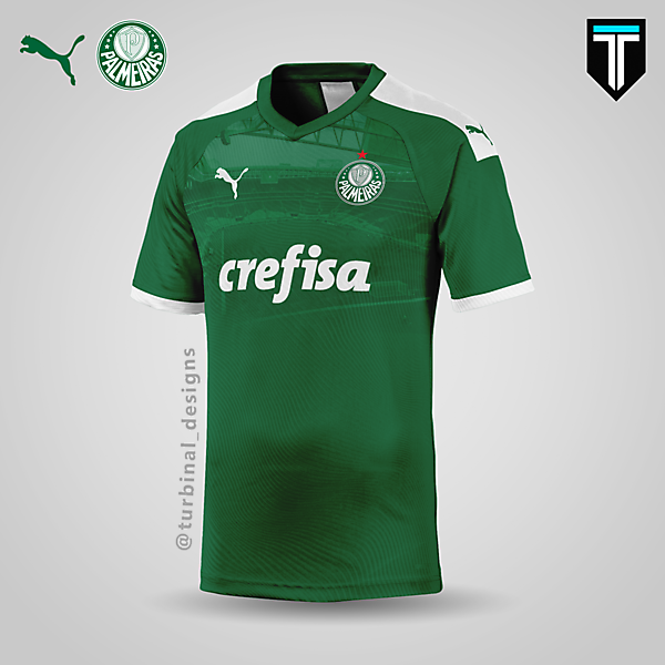 Palmeiras x Puma - Home Kit Concept